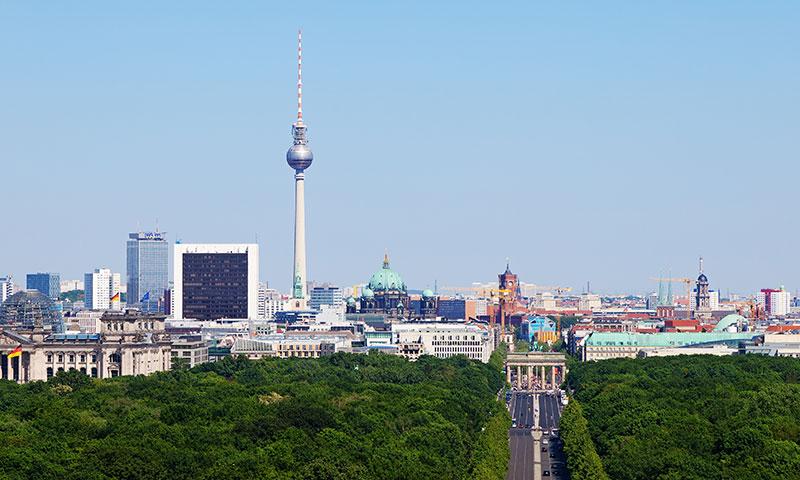 Interrail vesteuropa Berlin