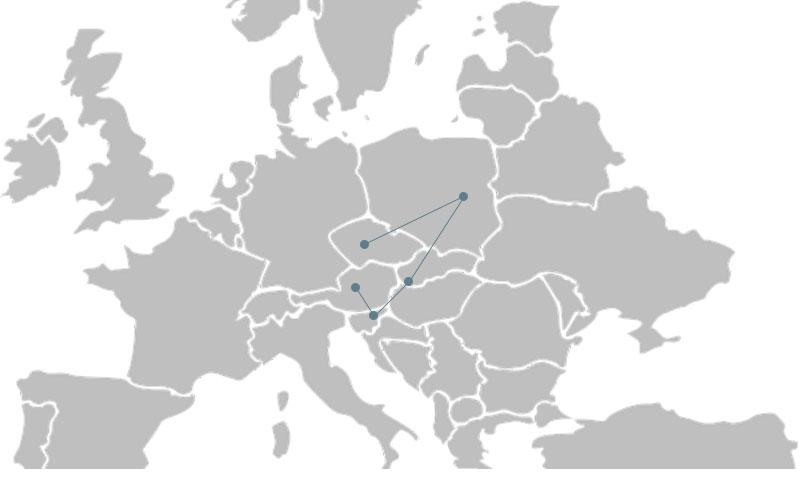 Interrail ruter østeuropa