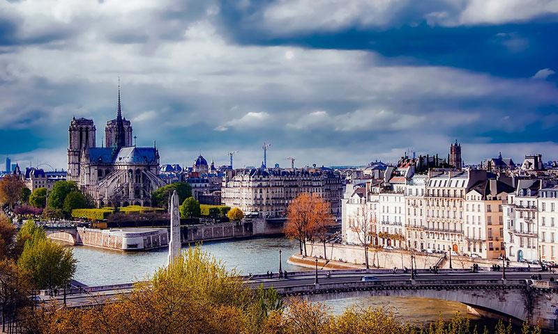 Interrail vesteuropa Paris