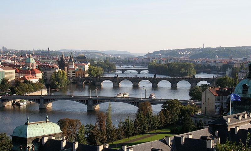 Hostels i Prag