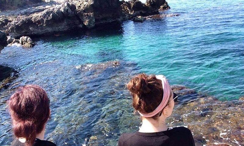 Den øde ø Lokrum ud for Dubrovnik interrail