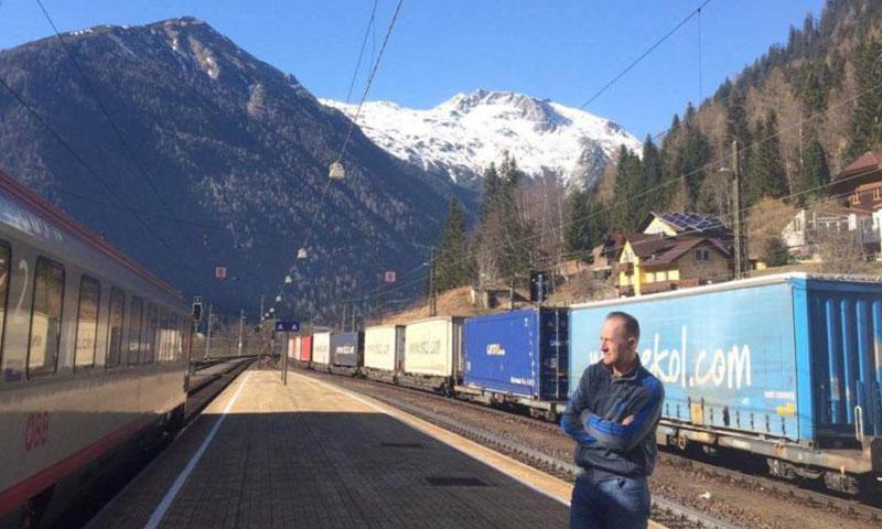 interrail i bjergene
