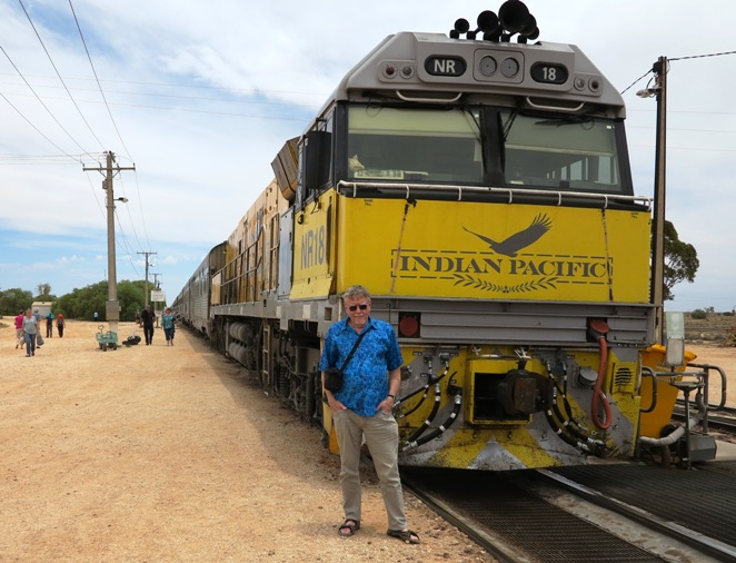 Togtur Down Under - Indian Pacific tur
