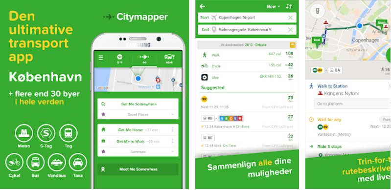 Citymapper - en god app
