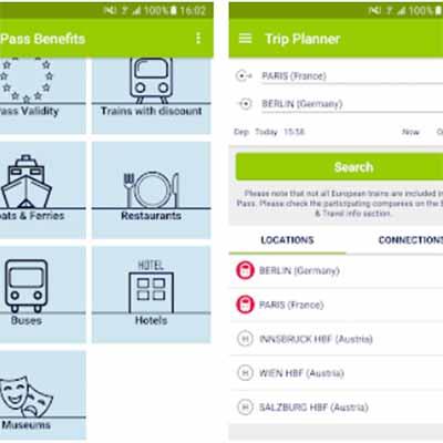 De bedste rejse apps