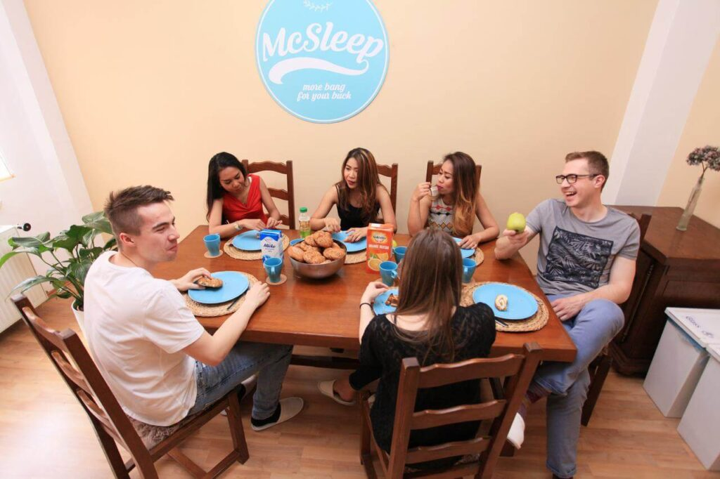 Morgenmad hos McSleep