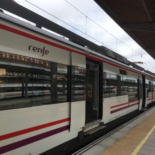 Renfe tog i Spanien