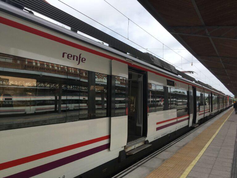 Togrejse i Spanien