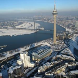 Tog til Düsseldorf