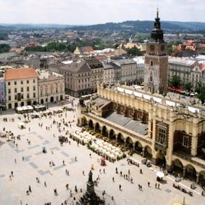 togrejse til krakow