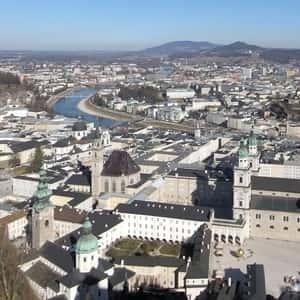 Tog til Salzburg