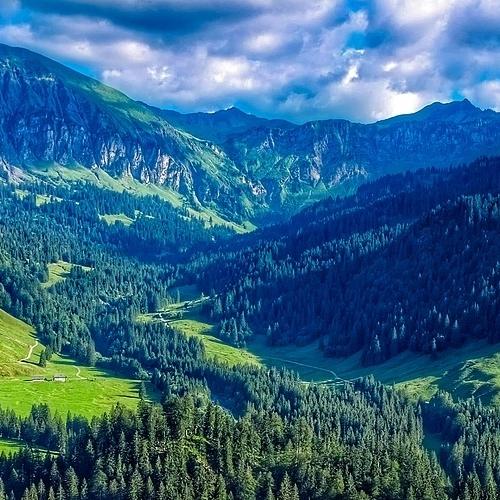 Tog til Østrig