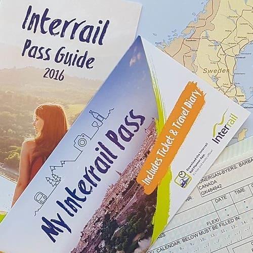 Planlæg din interrail