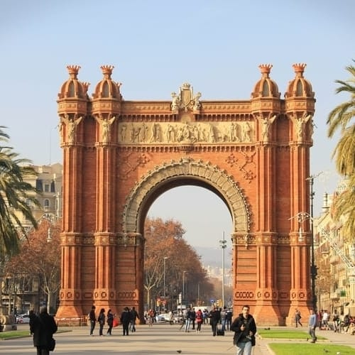 Interrail i Spanien