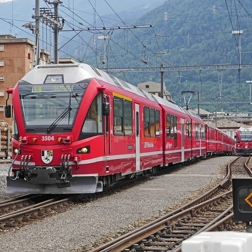 Interrail i Italien
