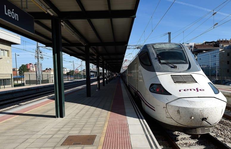 højhastighedstog i Spanien