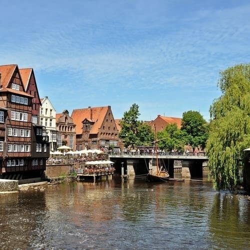 Togrejse til lüneburg