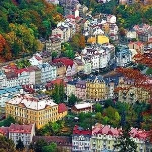 Tog til Karlovy Vary