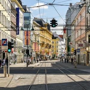 Tog til Linz