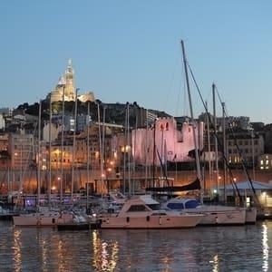 Tog til Marseille