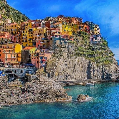 Togtur til Italien