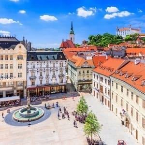 Tog til Bratislava