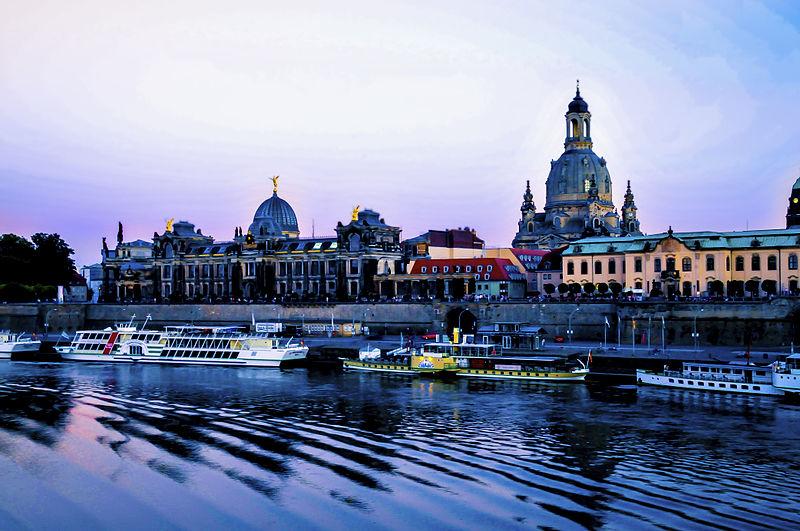 Brühlske Terrasser i Dresden