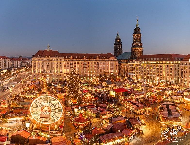 Julemarked med tog til Dresden