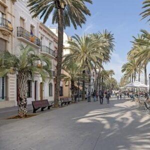 barcelona med tog