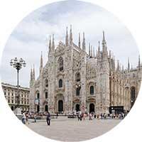 milano interrail italien