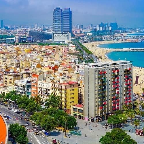 Togrejser til Spanien