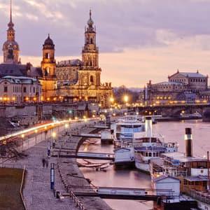 Tog til Dresden