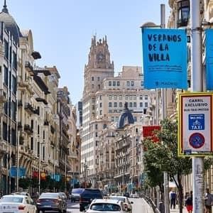 Tog til Madrid