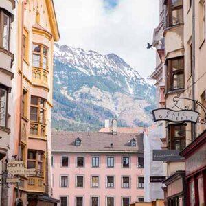 Tog til Innsbruck