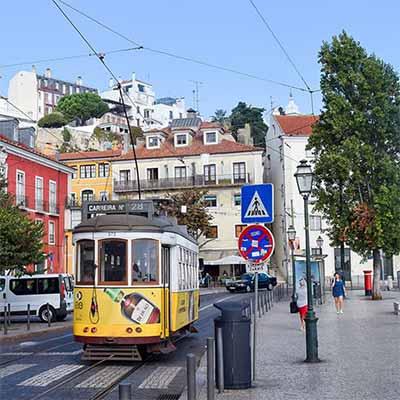 Tog til Portugal