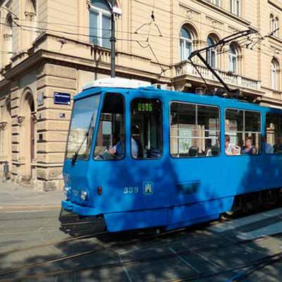 Tog til Zagreb