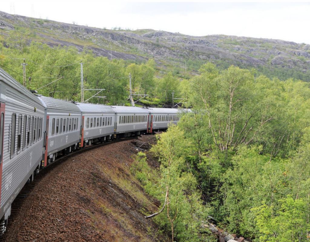 togtur til norge