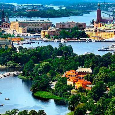 Tog til Stockholm