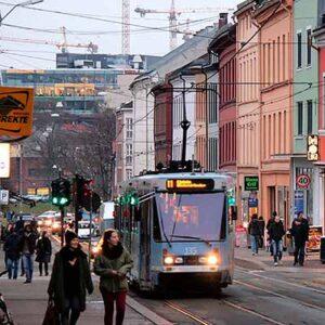 Tog til Oslo