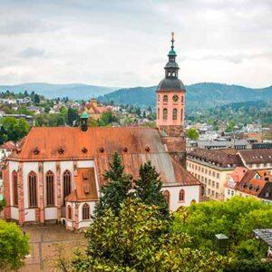 Tog til Baden-Baden