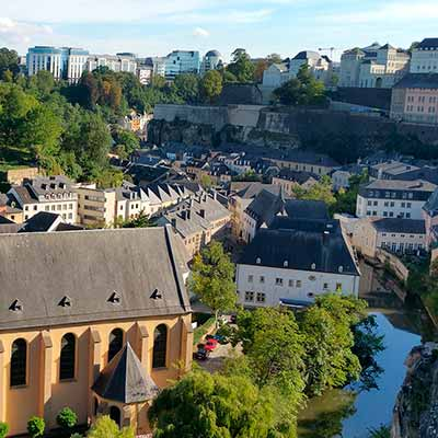 Tog til Luxembourg